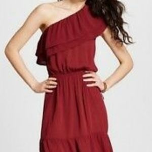 Mossimo One shoulder Rayon dress